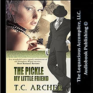 The Pickle My Little Friend audiobook cover art