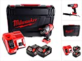Milwaukee 4933464264 Taladro de Batera Combustible, 18...