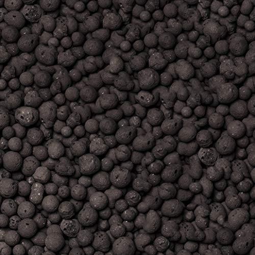 brockytony 8-16 mm. Aktiv & decoton (Pflanzton, Pflanzgranulat, Blähton, Tonkugeln, Tongranulat, Hydrokultur) 5 Liter. Farbe: Schwarz, ANTHRAZIT