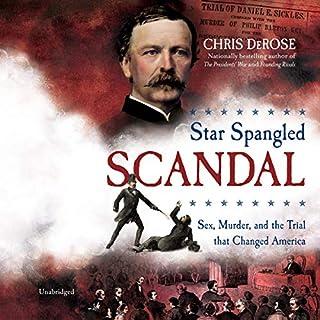 Star Spangled Scandal audiobook cover art