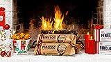 肯德基限量版11 Enviro-Log的Herbs&Spices Fire Starter Log-100%再生蜡纸板防火日志2包