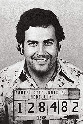 El Patron Medellin Colombia Mugshot Cartel de cartel de borrado en seco...
