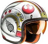 Casco de moto HJC FG-70s X-WING FIGHTER PILOT MC1F, Blanco/Rojo/Amarillo, S