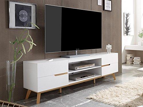 Lowboard Longboard Unterschrank Fernsehtisch Rack Hifi TV Tisch