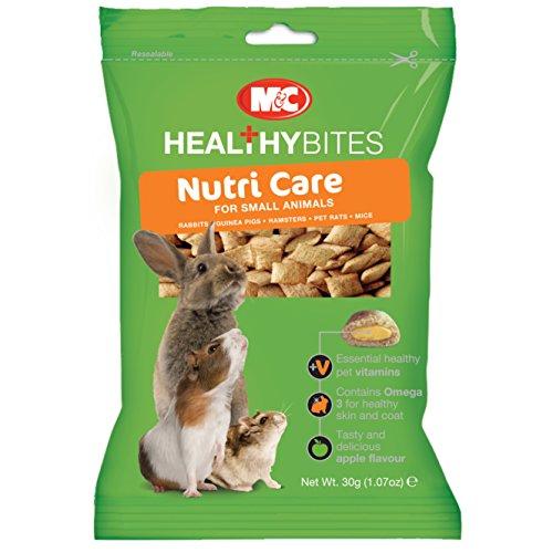 Healthy Bites - Nutri Care - Snack per piccoli animali (30g) (Assortito)