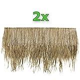 Wilai Palmendächer Palmdach Paneele Palmschindel Palmenblätter 145 cm (2)