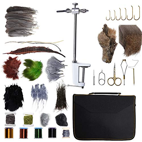Dr.Fish Fly Tying Kit Fly Tying Material & Tools