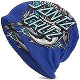 Santa Cruz Skateboards Logo Skull Cap/Casco Liner/Running Beanie - Máxima retención térmica y Rendimiento Absorción de Humedad