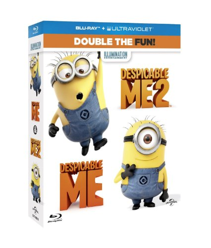 Despicable Me / Despicable Me 2 Double Pack [Blu-ray] [Import]