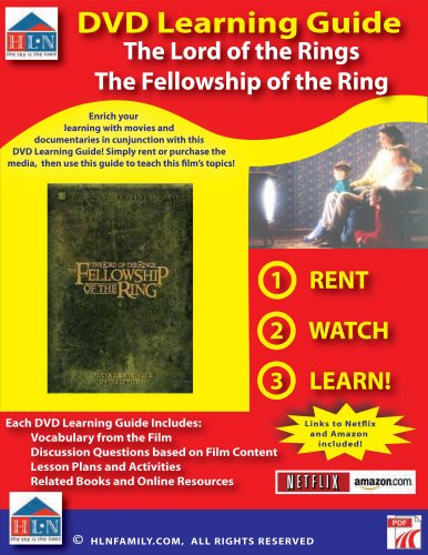 Lord of the Rings: The Fellowship of the Ring DVD Learning Guide (English Edition)