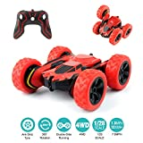Remote Control Car, RC Cars Toys Dual Mode Durable Car with Strong Suction Power, 360°Rotating Stunt Rechargeable High-Speed Vehicle with LED Lights, Ideal Gift for Boys Girls