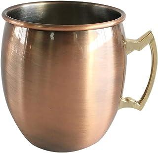 Stainless Steel 350ml Electroplating Colorful Drum Shape Cup Coffee Mug snowvirtuosau
