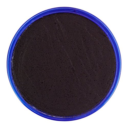 Snazaroo- Pintura facial y Corporal, 18 ml, Color negro, (Colart 18111)