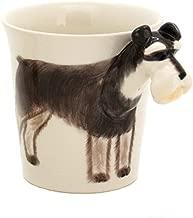 Lovely Unique 3D Coffee Milk Tea Ceramic Mug Cup with Schnauzer