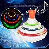 Trompos Juguetes, Peonza Gyro con Colorido Parpadeante LED Luces y Música para Infantil, Gyro con...