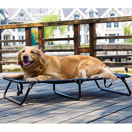 Hundeliege Schlafplatz Hundebett Faltbar - Unterschiedliche Größen - für mittlere & große Hunde,M