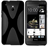mumbi X-TPU Funda compatible con HTC One Mini, negro