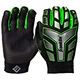 Franklin Sports Youth Receiver Gloves (Assorted Colors)