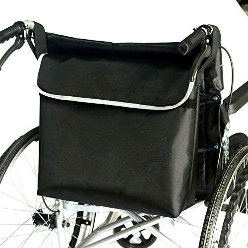 SXFYGYQ Bolsa para Silla De Ruedas, Accesorio Almacenamiento para Silla Ruedas para Llevar Artículos Y Accesorios Sueltos, Mochila De Mensajero De Viaje para Discapacitados, Ancianos
