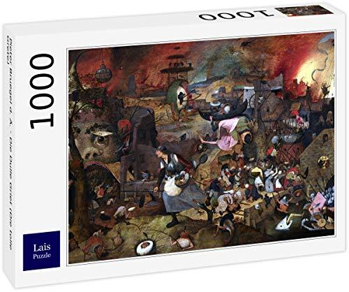 Lais Puzzle Pieter Bruegel el Viejo - El Dulle GRIET (La Gran Grete) 1000 Piezas