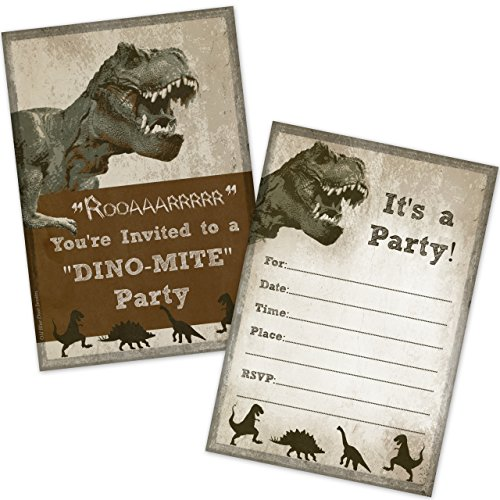 Top 10 dinosaur party invitations for 2021
