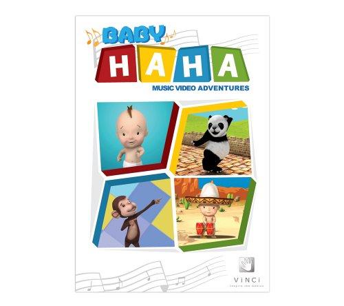 VINCI Baby Haha Music Video Adventures DVD (English)