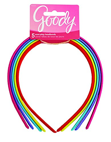 Goody Girls Classics Fabric Headband, 5 Count