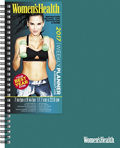 Women's Health Weekly and Monthly Planner (2017)