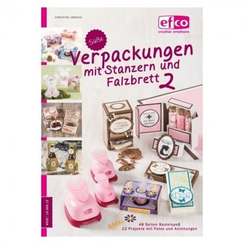 Süße Verpackungen mit Stanzern Nr. 2, 148 x 210 mm / A 5, 48 Seiten, Buch deutsch, Christine Urmann