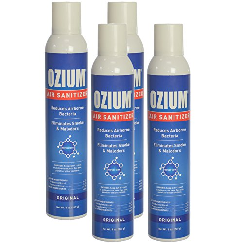 Ozium 8.0 Oz. Air Sanitizer & Odor Eliminator for Homes, Cars, Offices and More...