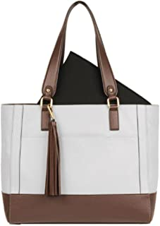 s Leather Madison Tote (Grey)