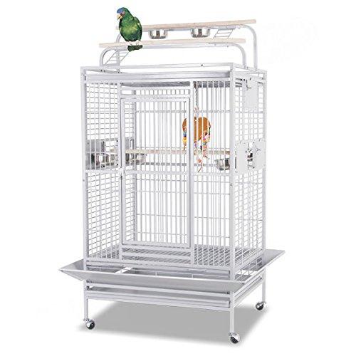 Montana Cages ® | Papageienkäfig Hacienda Play - Platinum, Käfig, Voliere Für Papageien