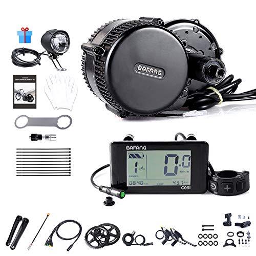 BAFANG BBS01B - Kit de conversión de motor eléctrico de 36 V 250 W, motor eléctrico con sensor de torsión para bicicleta de carretera de montaña, kit de motor convertidor de bicicleta