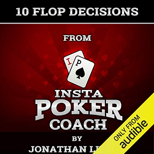 10 Flop Decisions from Insta Poker Coach audiobook cover art