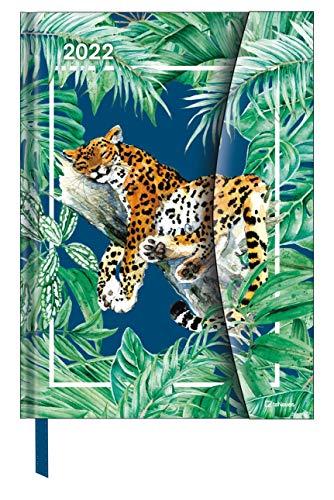 Jungle 2022 - Diary - Buchkalender - Taschenkalender - 16x22: Magneto Diary