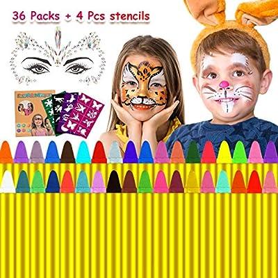 Emooqi Gesichtsfarbe für Kinder