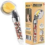 Levodec Filter Shower Head- Hard Water Filter- Pressure Shower Head- Chlorine Filter- Water Saving-...