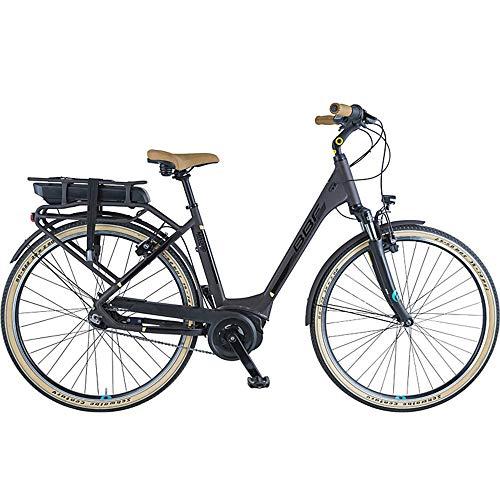 BBF Madrid 700c E-Bike Damenrad Stadtrad 28 Zoll Pedelec Elektrofahrrad Citybike StVZO (braun, 50 cm)