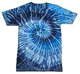 Colortone Tie Dye T-Shirt 2-4 (XSM) Evening Sky