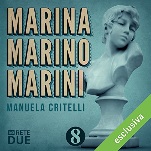 Marina Marino Marini 8 audiobook cover art