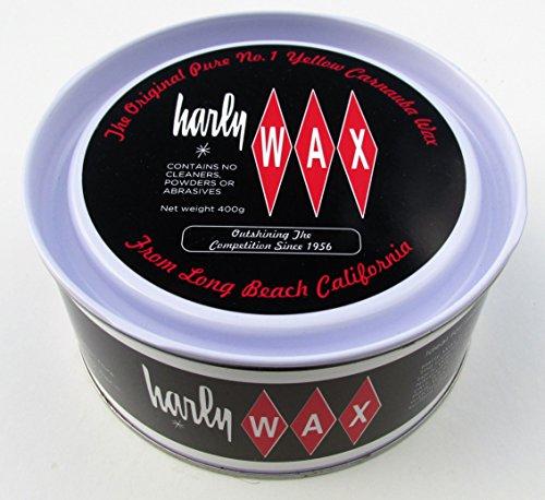 Harly Wax High Gloss Pure Carnauba Car Wax Kit - Harley Wax