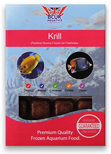 Comida para peces congelados - Krill paquetes de 100 g