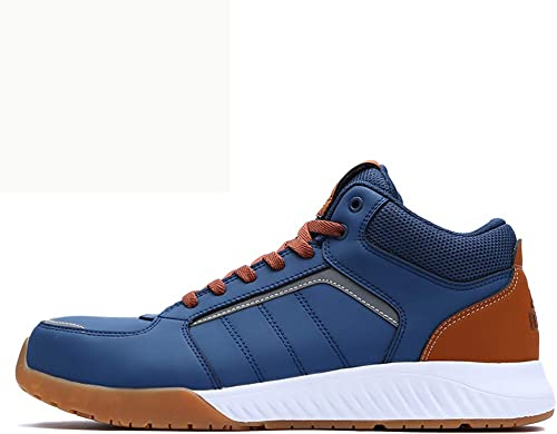 XBXZ Bottes de Travail Airproof Embout en Acier léger Anti-écraseHommest Chaussures de site de ponction Chaussures de sécurité Hommes et Femmes Bottes de sécurité (Couleur   A, Taille   45)