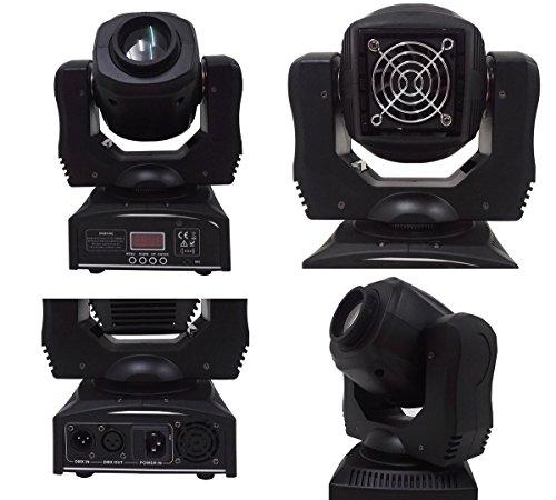 Wonsung 60W LED gobo Moving Head Lighting spot lighting dj set gobo...