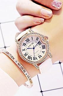 Genericの新しいトレンドの韓国レディースガールズLadyダイヤモンドshi ying韓国学生ミニマリスト腕時計ベルト時計防水レディースファッションAtmosphere