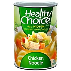 Healthy Choice Chicken & Dumplings Soup, 15-Ounce Cans (Pack...