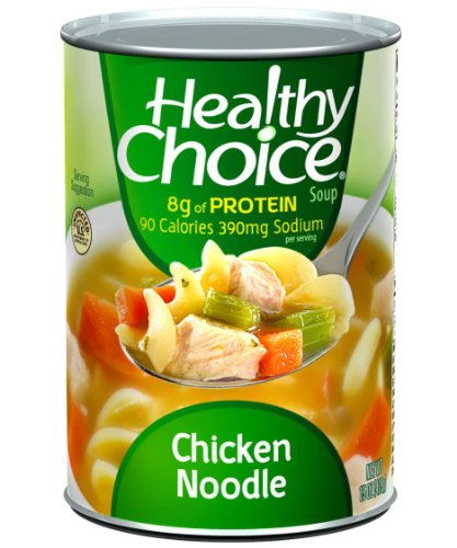 Healthy Choice Chicken & Dumplings Soup, 15-Ounce Cans (Pack of 12) 3