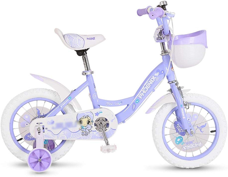 Kinderfahrrder Mdchen Bikes Junge Bikes 12-14-16 Zoll Fahrrad Sichere Und Glatte Fahrrder Geeignet Für Kinder Von 2-8 Jahren