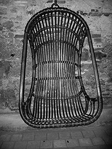 Panier suspendu rotin hängeschaukel fauteuil suspendu en rotin synthétique noir