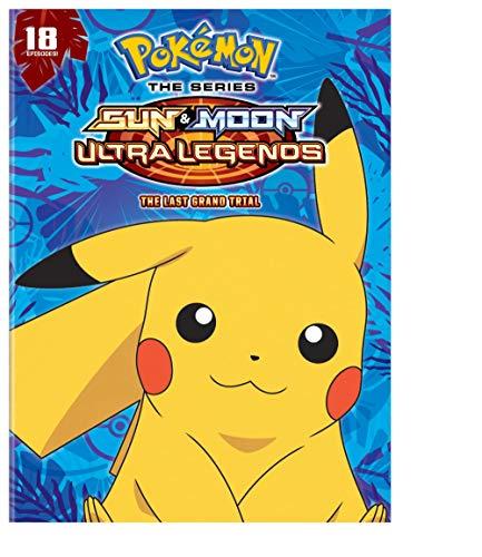 Pokémon the Series: Sun & Moon - Ultra Legends: The Last Grand Trial (DVD)
